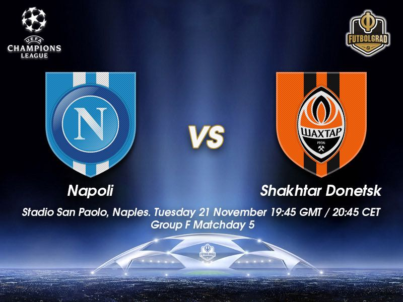 Napoli vs Shakhtar Donetsk – Champions League – Preview
