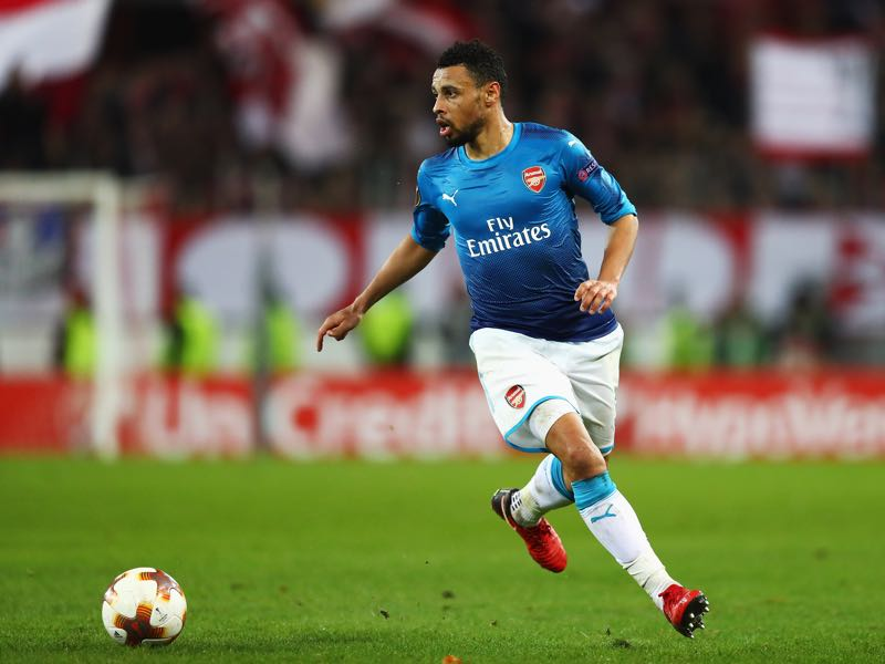 Francis Coquelin will be Arsenal's key player for the match against BATE. (Photo by Dean Mouhtaropoulos/Getty Images)