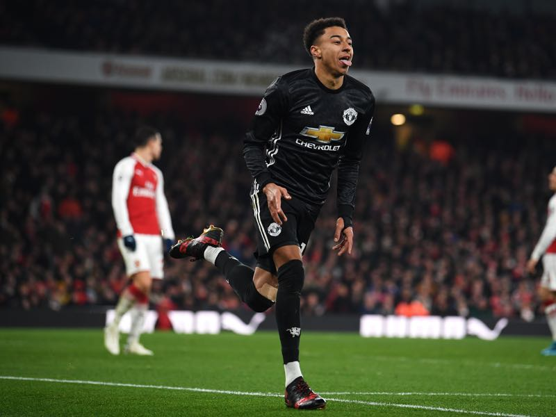 Jesse Lingard is our player to watch. (Photo by Laurence Griffiths/Getty Images)