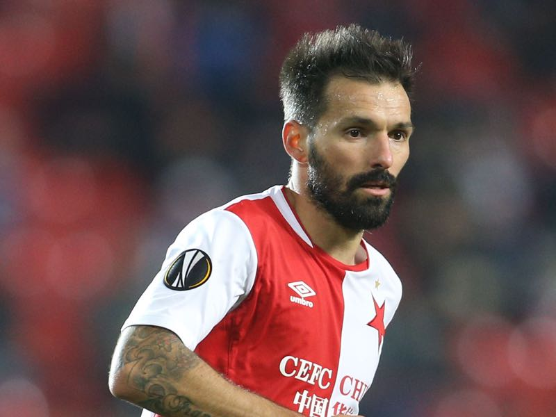 Danny will be Slavia's key player. (MILAN KAMMERMAYER/AFP/Getty Images)