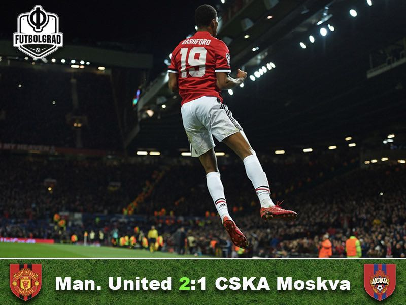 Manchester United v CSKA Moscow – Match Report