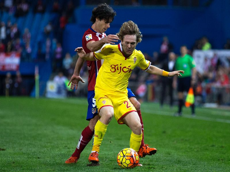 Alen Halilović played well while he was at Gijon. (Photo by Gonzalo Arroyo Moreno/Getty Images)