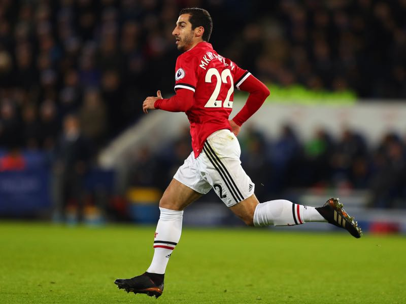 Henrikh Mkhitaryan never really seemed to fit in at Jose Mourinho's Manchester United.(Photo by Catherine Ivill/Getty Images)