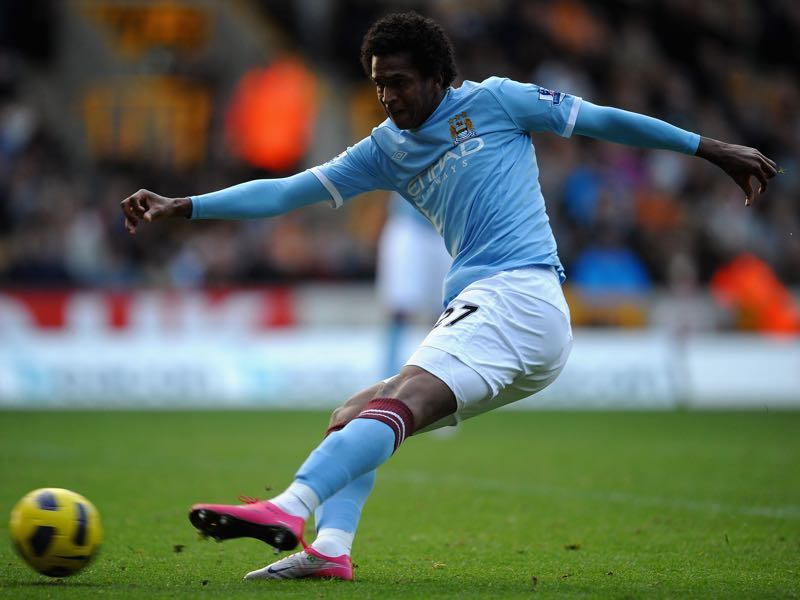 Jô struggled to make a mark at Manchester City. (Photo by Laurence Griffiths/Getty Images)