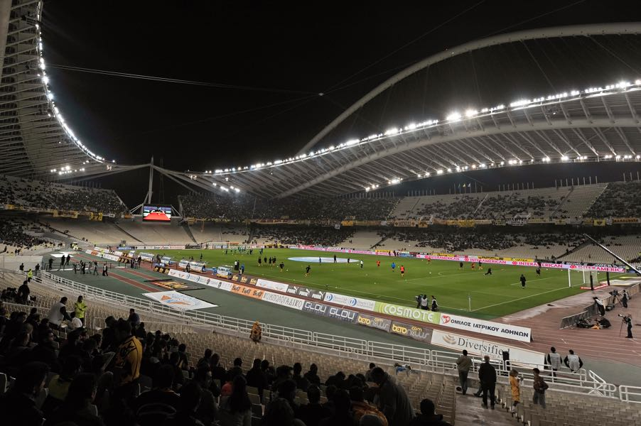 AEK vs Ajax will take place at the Athens Olympic Stadium. (Photo by Louisa Gouliamaki/EuroFootball/Getty Images)