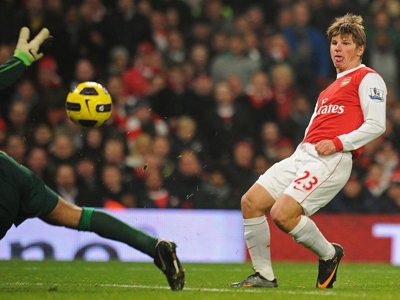 Magical number 10 - Andrey Arshavin was Russia's last magical number 10. (CARL DE SOUZA/AFP/Getty Images)