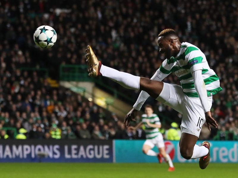 Moussa Dembélé is Celtic's biggest star. (Photo by Ian MacNicol/Getty Images)