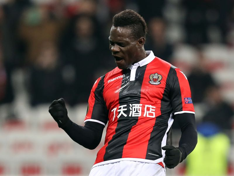 Mario Balotelli has resurrected his career in Nice. (VALERY HACHE/AFP/Getty Images)