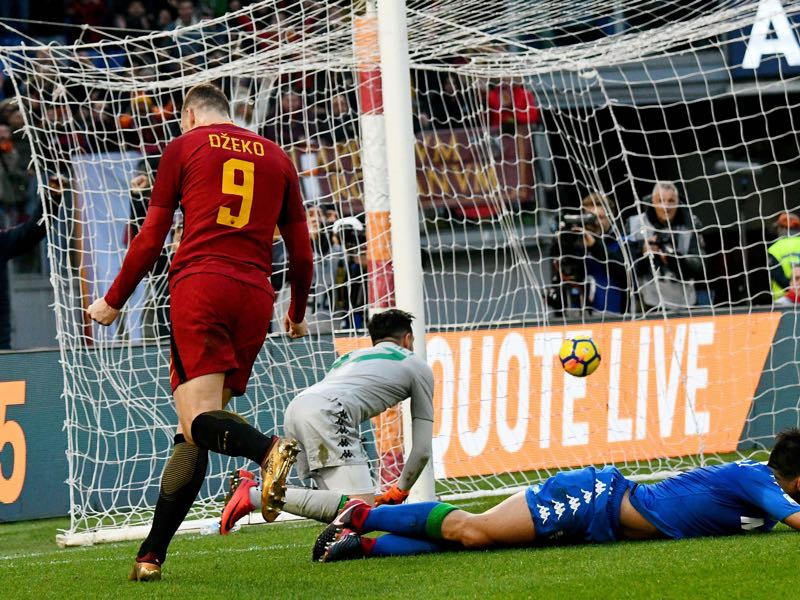 Bosnia - Edin Džeko has been in fantastic goalscoring form this season. (VINCENZO PINTO/AFP/Getty Images)