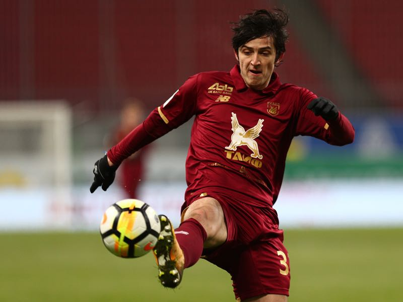 Sardar Azmoun followed Berdyev from Rostov to Kazan. (Photo by Epsilon/Getty Images)