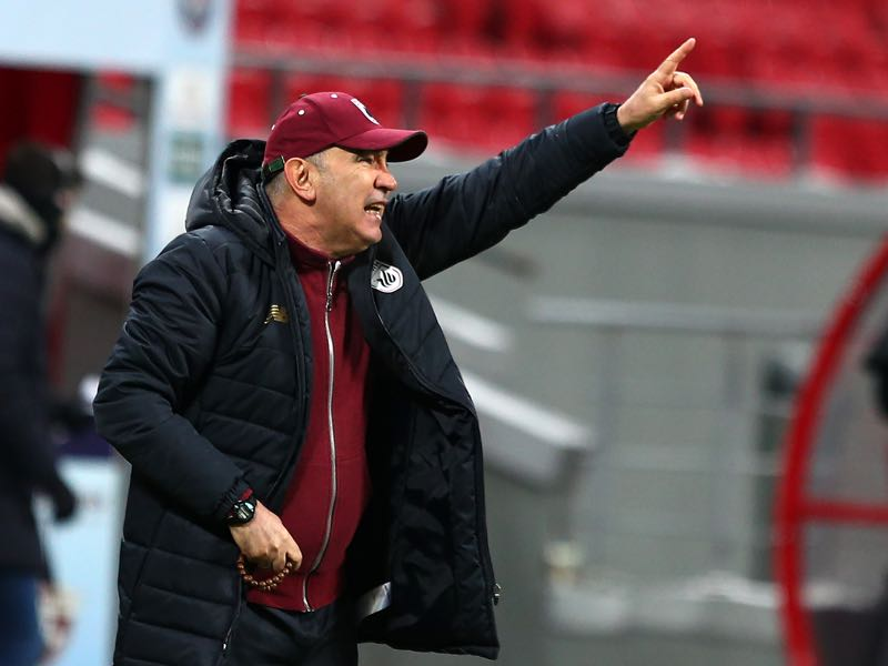Kurban Berdyev has slowly turned Rubin Kazan into FC Rostov Kazan. (Photo by Epsilon/Getty Images)