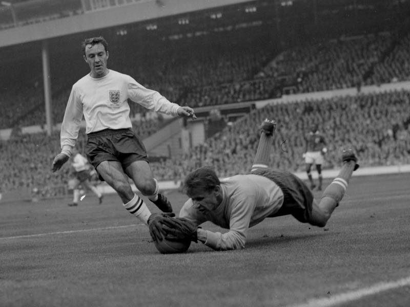 Lev Yashin innovated the game with his aggressive box control. (Photo by Dennis Oulds/Central Press/Getty Images)