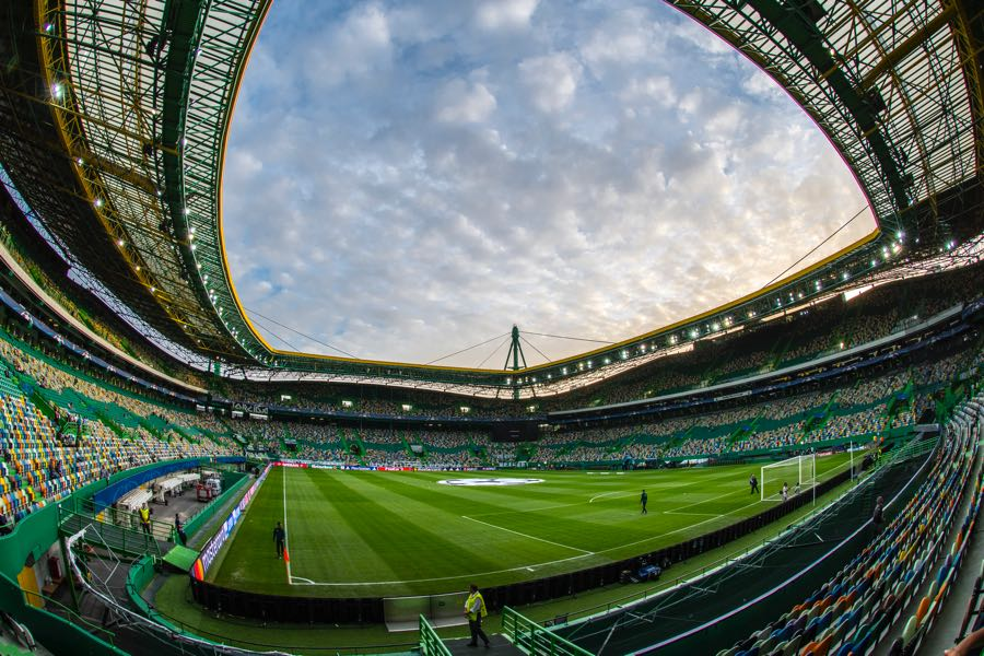 Sporting vs Vorskla will take place at the Estádio José Alvalade in Lisbon. (Photo by Octavio Passos/Getty Images)