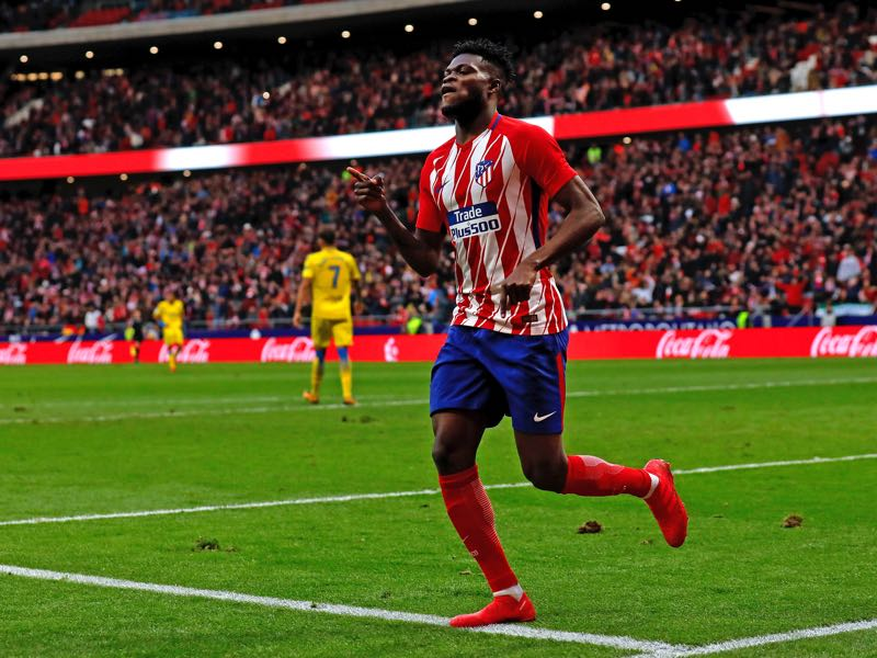 Thomas Partey is the Atlético Madrid player to watch out for. (Photo by Gonzalo Arroyo Moreno/Getty Images)