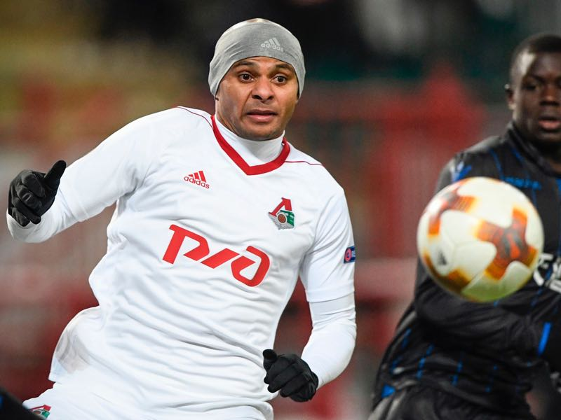 Ari will be Lokomotiv's key player. (ALEXANDER NEMENOV/AFP/Getty Images)