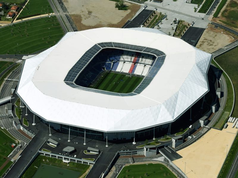 Olympique Lyon vs CSKA Moscow will take place at the Parc Olympique Lyonnaise. (ROBERT GRAHN/AFP/Getty Images)