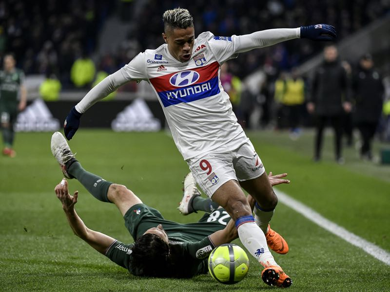 Mariano Diaz will be Lyon's key player. (JEFF PACHOUD/AFP/Getty Images)