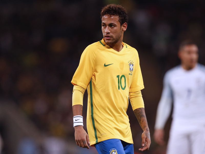 Neymar is the Seleção's biggest hope. (IAN KINGTON/AFP/Getty Images)