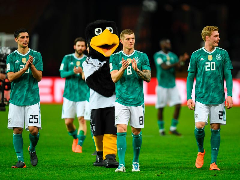 Germany remains among the favourites but recent performances reveal some question marks. (PATRIK STOLLARZ/AFP/Getty Images)