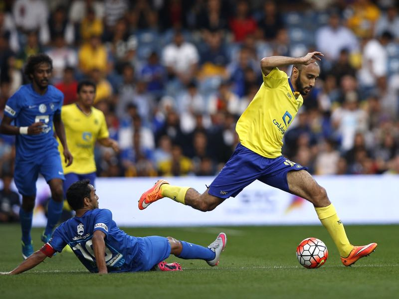 Mohammad Al-Sahlawi will be Saudi-Arabia's key player. (ADRIAN DENNIS/AFP/Getty Images)