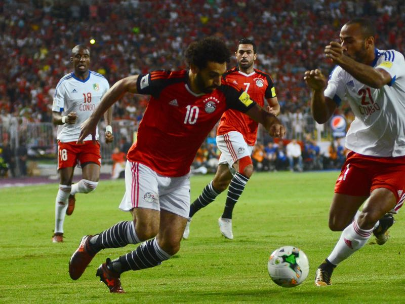 Egypt and Liverpool superstar Mo Salah is the biggest hope of a country that will go into this tournament as a massive underdog. (TAREK ABDEL HAMID/AFP/Getty Images)