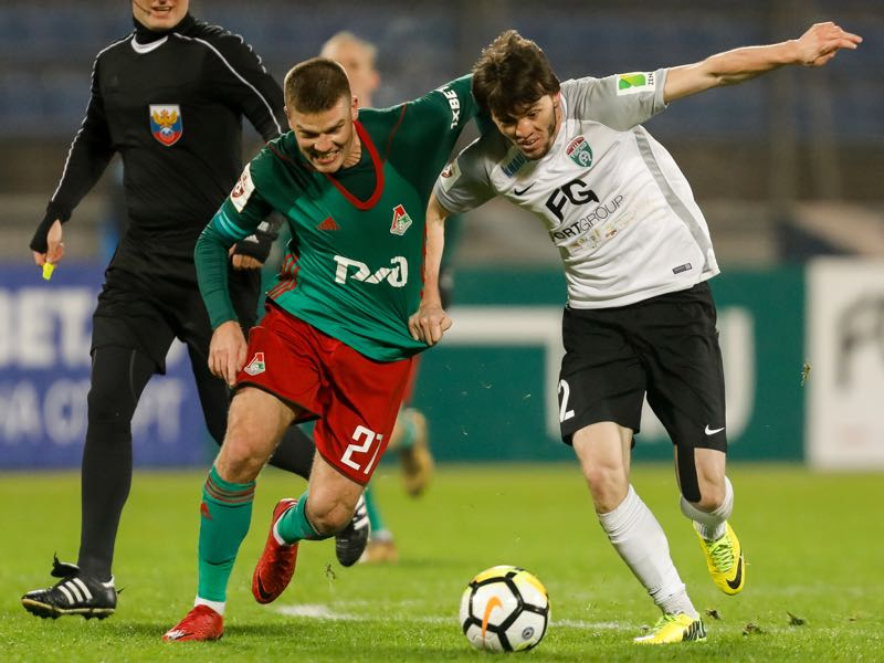 Igor Denisov (l.) will be Lokomotiv's key player. (Photo by Epsilon/Getty Images)