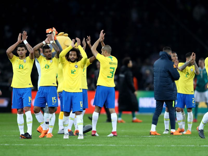The Seleção looks much improved and is once again one of the favourites ahead of a World Cup. (Photo by Alex Grimm/Bongarts/Getty Images)