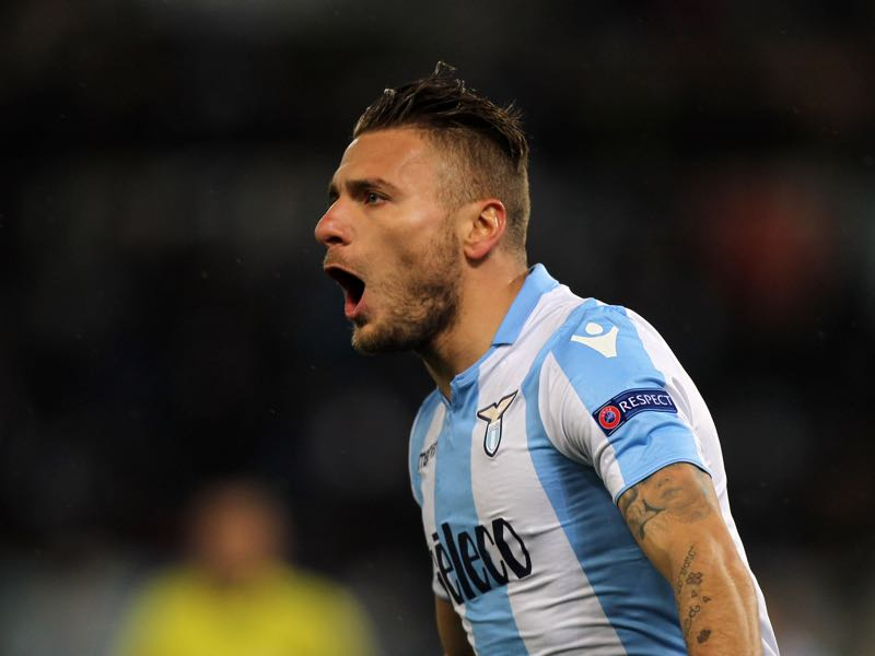 Ciro Immobile will be Lazio's key player. (Photo by Paolo Bruno/Getty Images)