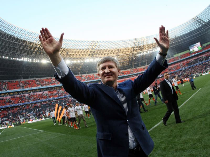 Shakhtar owner Rinat Akhmetov is one of Ukraine's most influential oligarchs. (Alexander KHUDOTEPLY/AFP/Getty Images)