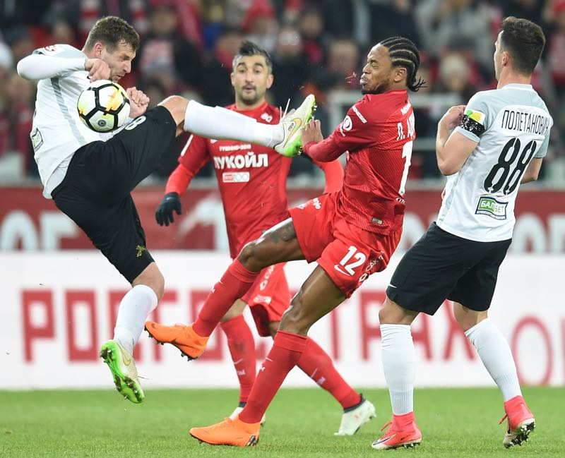 Tosno managed to eliminate Spartak Moscow in the semifinal of the Russian Cup (Photo by Epsilon/Getty Images)
