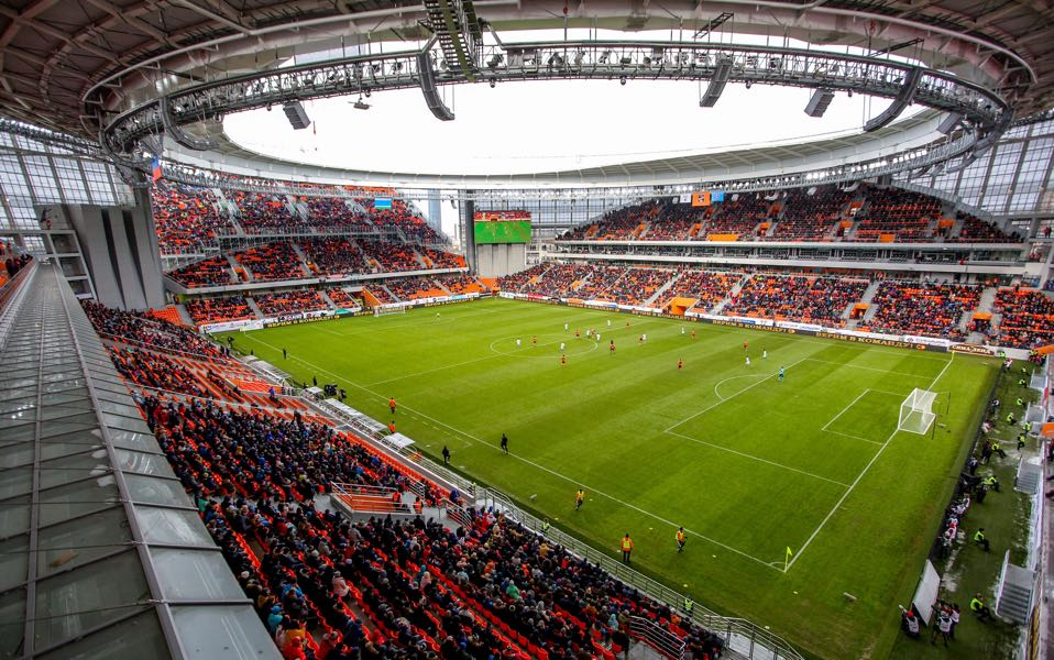 Egypt vs Uruguay will take place at the Ekaterinburg Arena (VLAD LONSHAKOV/AFP/Getty Images)