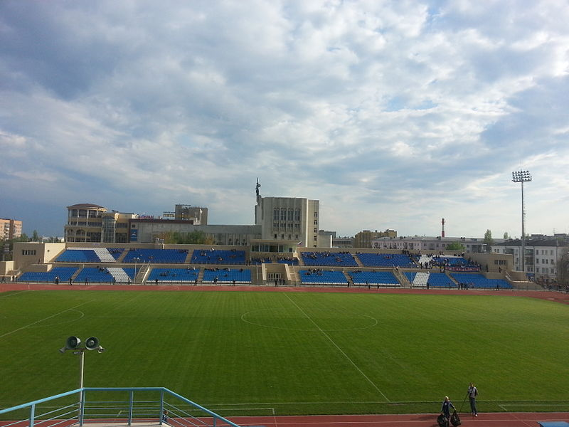 Avangard Kursk play in the Trudovye Rezervy Stadion, which was constructed in 1963. (UMNICK CC-BY-SA-3.0)