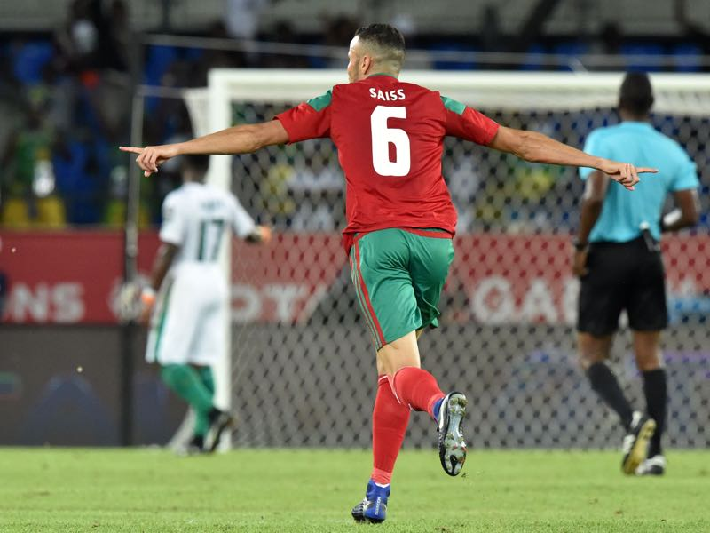 Morocco's Romain Saïss recently completed promotion to the English Premier League with Wolverhampton (ISSOUF SANOGO/AFP/Getty Images)