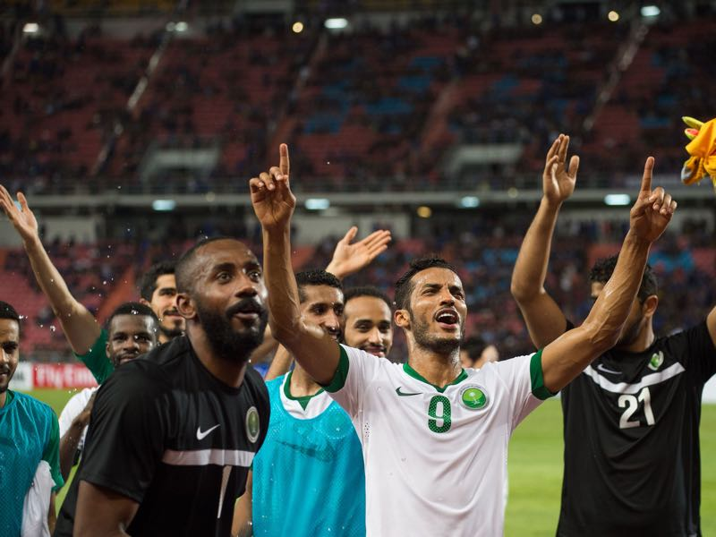 Saudi Arabia will be the biggest outsiders in Group A. (ROBERTO SCHMIDT/AFP/Getty Images)
