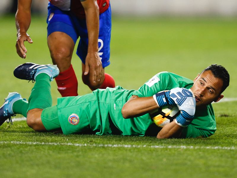 Keylor Navas will be key for Costa Rica's ambitions to make it out of Group E (Photo by Jeff Zelevansky/Getty Images)