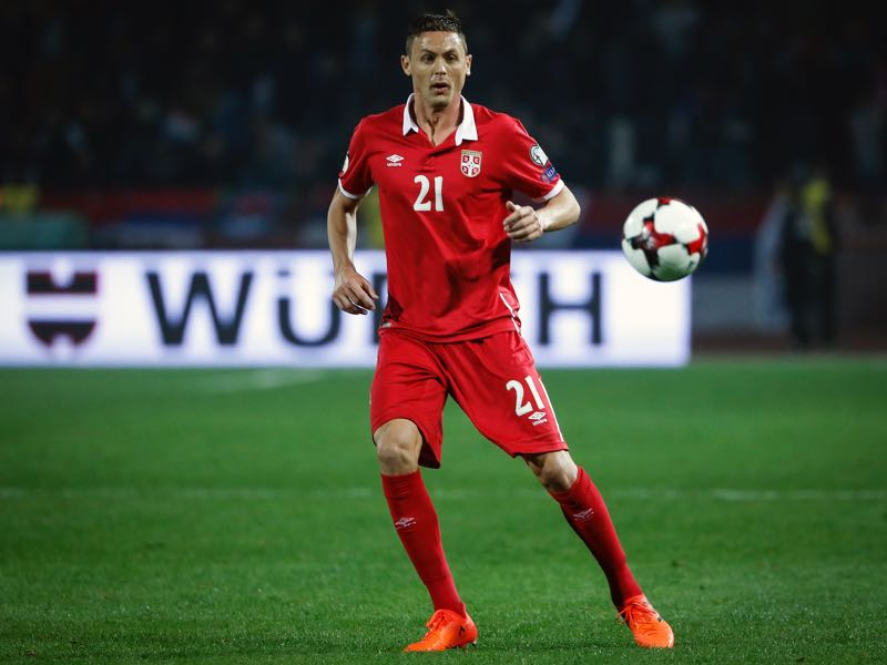 Nemanja Matić will be a key player in the Serbia squad. (Photo by Srdjan Stevanovic/Getty Images)