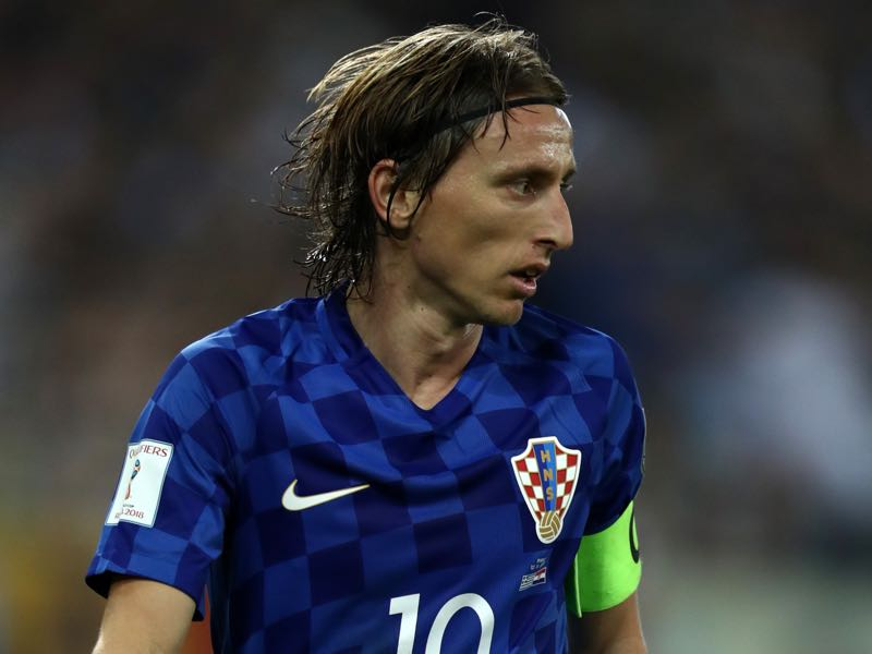 Luka Modrić will hope to lead Croatia out of Group D (Photo by Catherine Ivill/Getty Images)