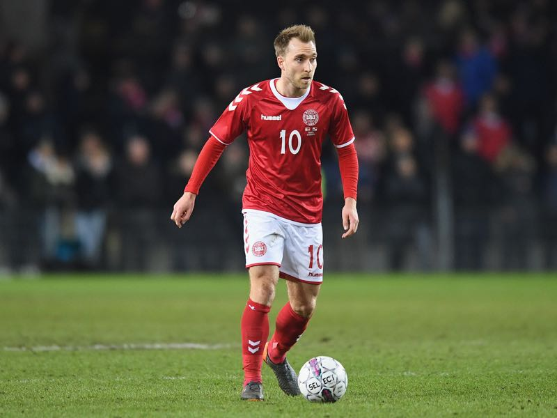 Christian Eriksen is one of the players to watch in Group C of the 2018 FIFA World Cup (Photo by Michael Regan/Getty Images)