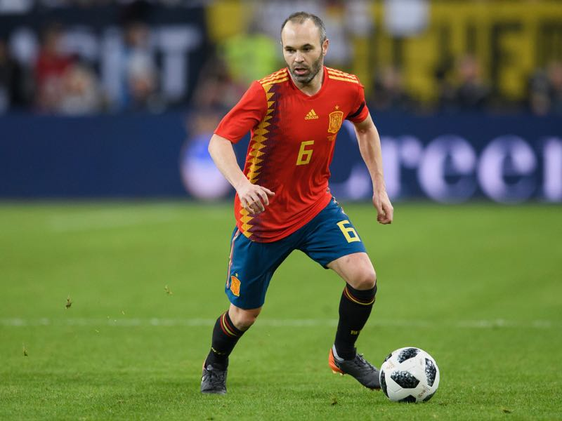 Andrès Iniesta remains Spain's key player and will be crucial for Spain to top Group B (Photo by Matthias Hangst/Bongarts/Getty Images)