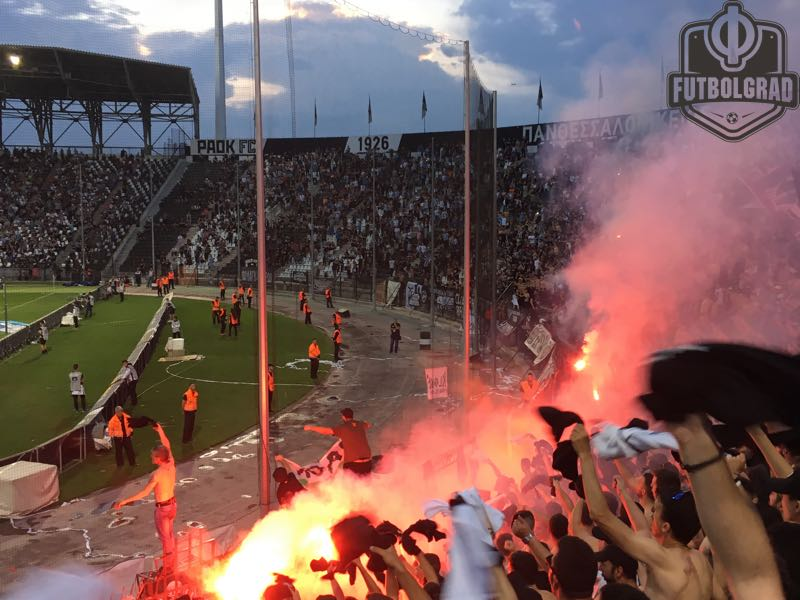 The fans of PAOK's Gate 4 (Manuel Veth/Futbolgrad Network)