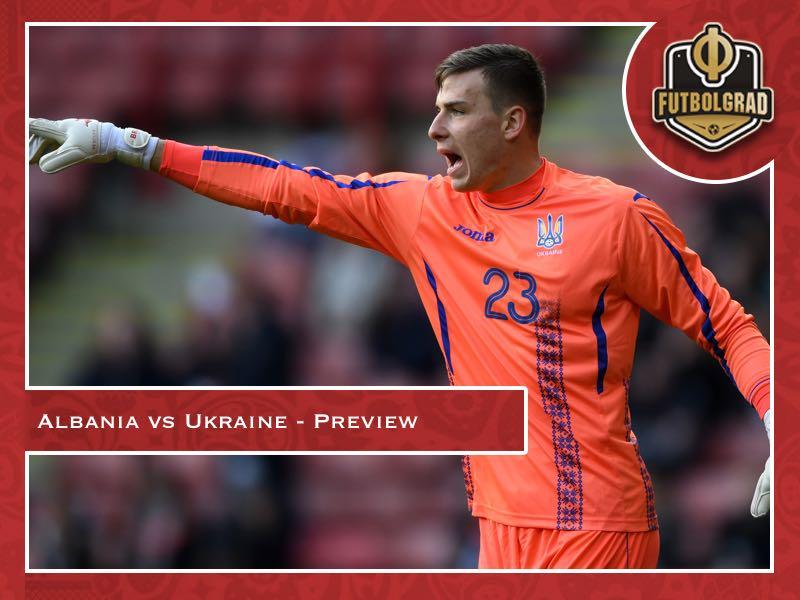 Ukraine continue rebuild in friendly against Albania
