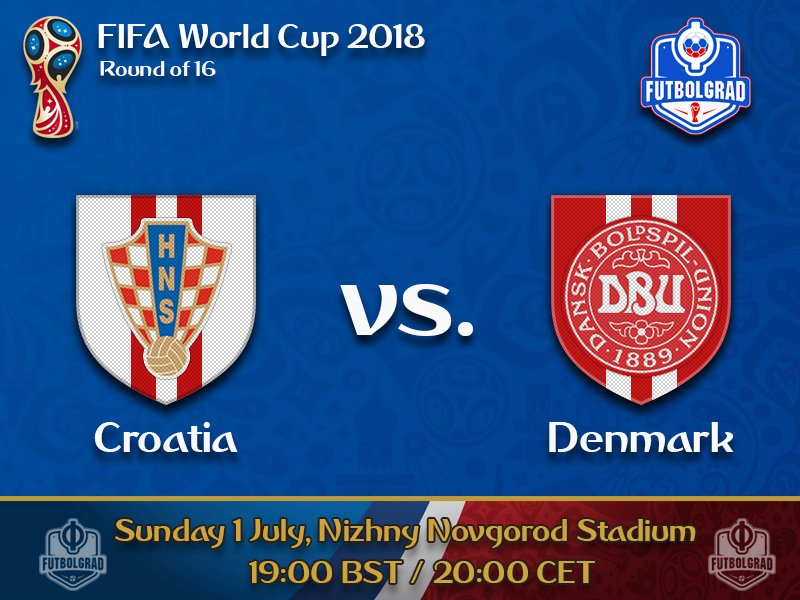 Croatia look to confirm their group stage form against Denmark