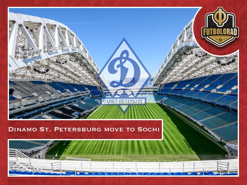 Dinamo St. Petersburg vanish after move to Sochi