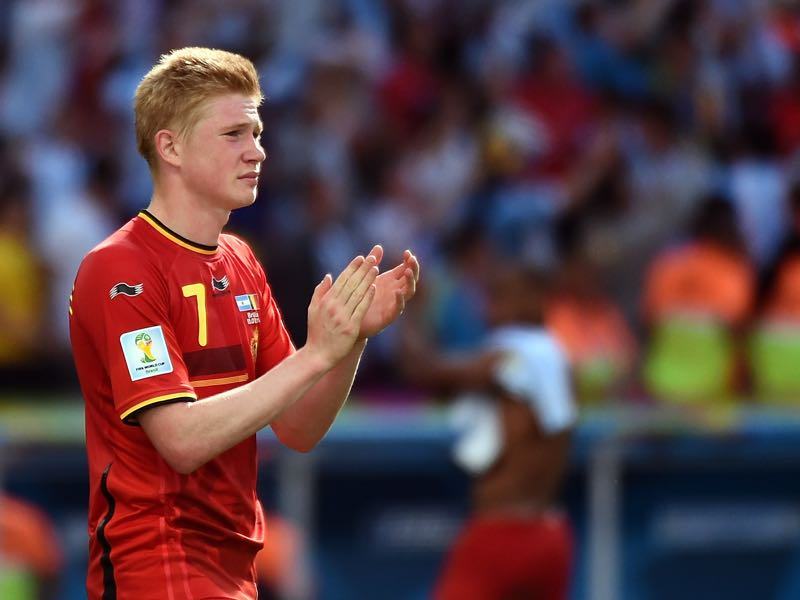 Kevin de Bruyne has been in stellar form for Manchester City this season (CHRISTOPHE SIMON/AFP/Getty Images)