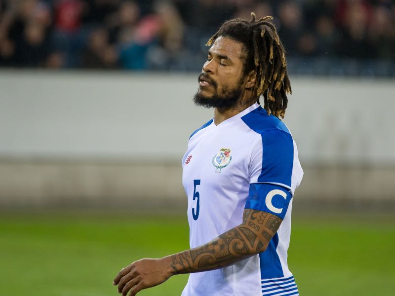 Roman Torres is the heaviest player at the 2018 FIFA World Cup (Photo by Monika Majer/Getty Images)