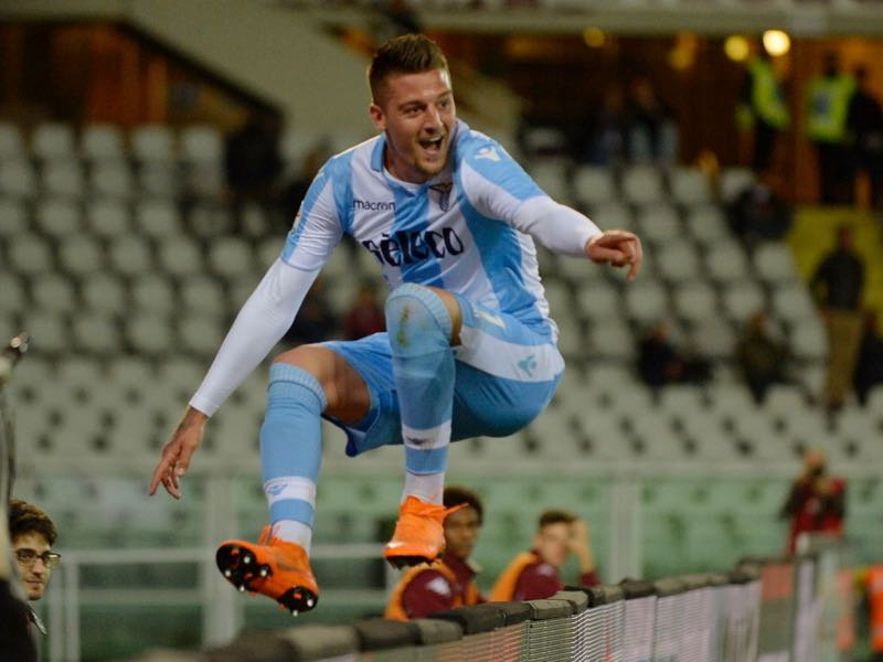 Sergej Milinković-Savić is at the top of the world at the moment but will he stay at Lazio? (Photo by Marco Rosi/Getty Images)