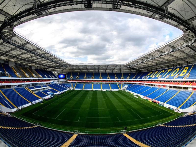 Russia vs Czech Republic will take place at the Rostov Arena (Photo by Mladen ANTONOV / AFP)