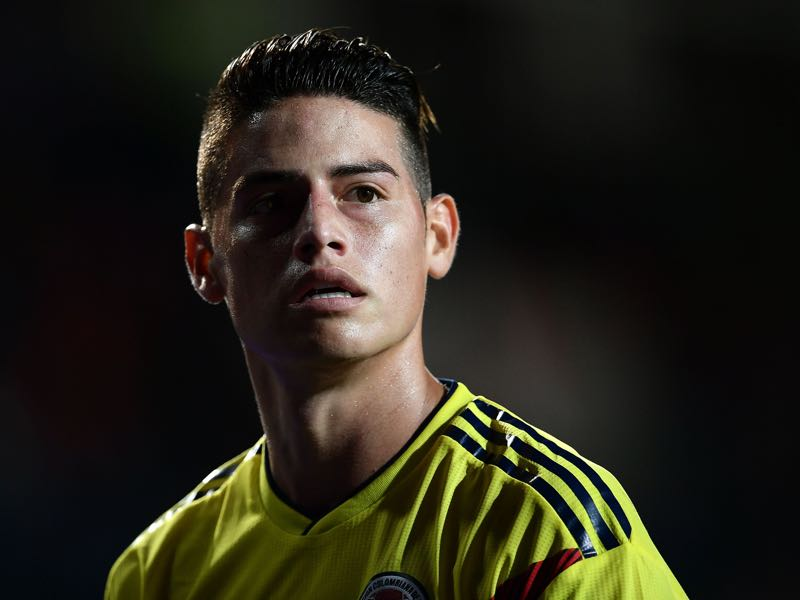 James Rodríguez remains the face of Los Cafeteros (MARCO BERTORELLO/AFP/Getty Images)