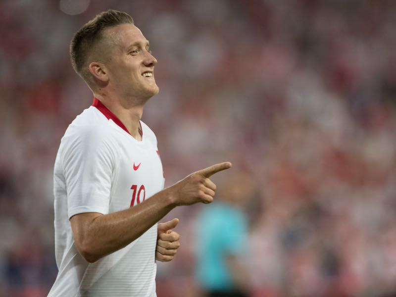 Piotr Zielinski will have to step it up for Poland (Photo by ANDRZEJ IWANCZUK / AFP)