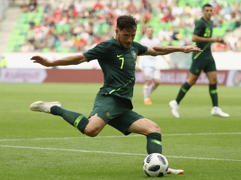 Mathew Leckie will be Australia's key player (Photo by Robert Cianflone/Getty Images)